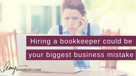 Hiring a bookkeeper could be your biggest business mistake